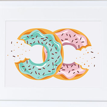 Chanel clipart drip Best on Chanel donut Poster