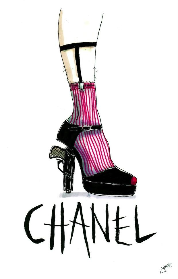 Chanel clipart famous Cruise Shoe Love Miami CC