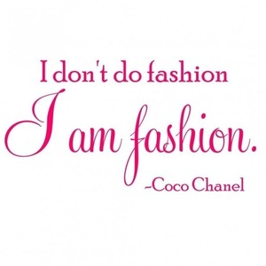 Chanel clipart famous Quotes Polyvore Chanel Coco by