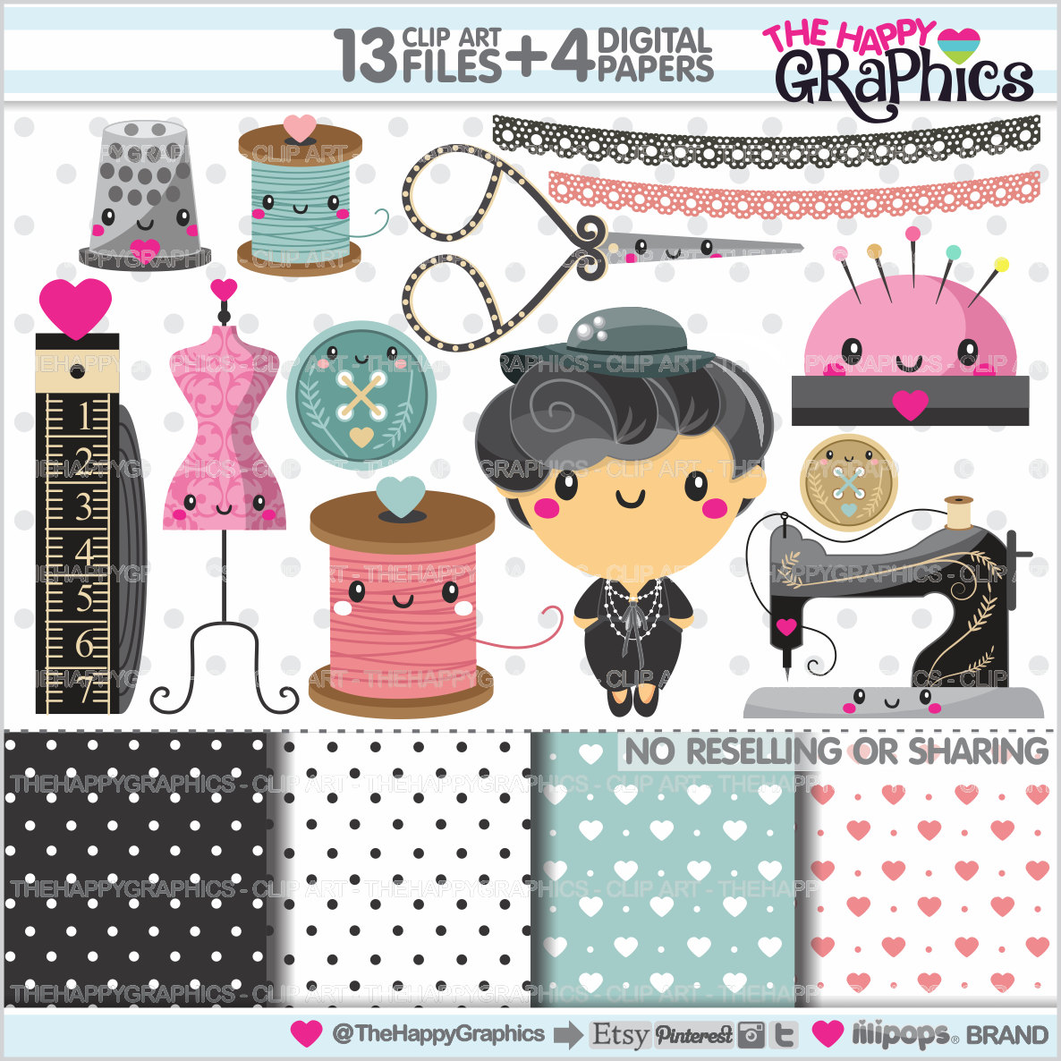 Chanel clipart fashion design Digital a Seamstress USE This