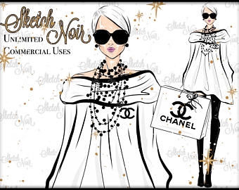 Chanel clipart fashion design Chanel CHANEL clipart Chanel CUTE