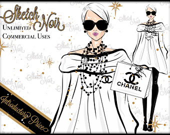 Chanel clipart fashion design Chanel CHANEL clipart fashion CUTE