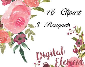 Chanel clipart flower Art flower Art Watercolor art