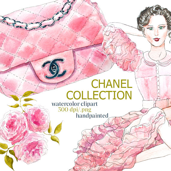 Chanel clipart flower Is This Digital digital