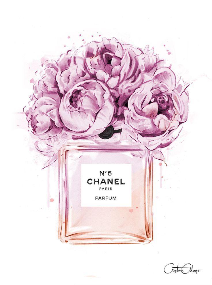 Chanel clipart flower : SimplyMe Best on illustration