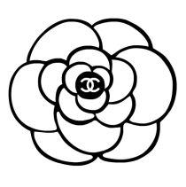 Chanel clipart flower Camellia tattoo Chanel Best Pinterest
