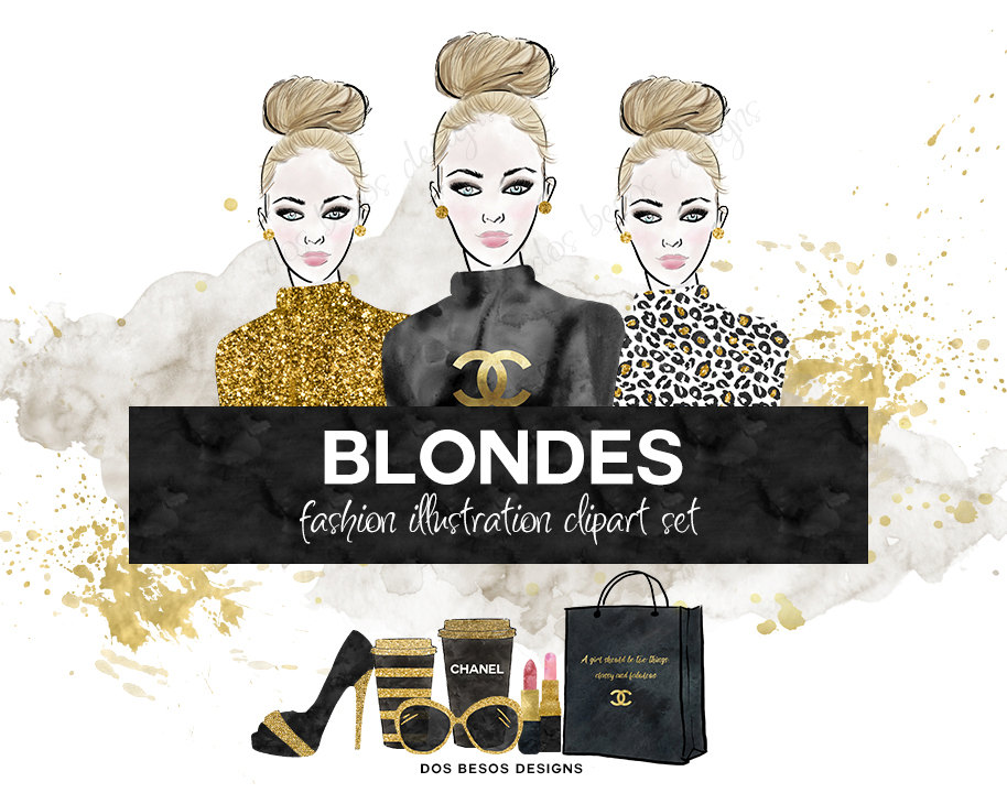 Chanel clipart glitter Digital is This Fashion a