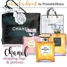 Chanel clipart glitter Download Kate commercial girl digital