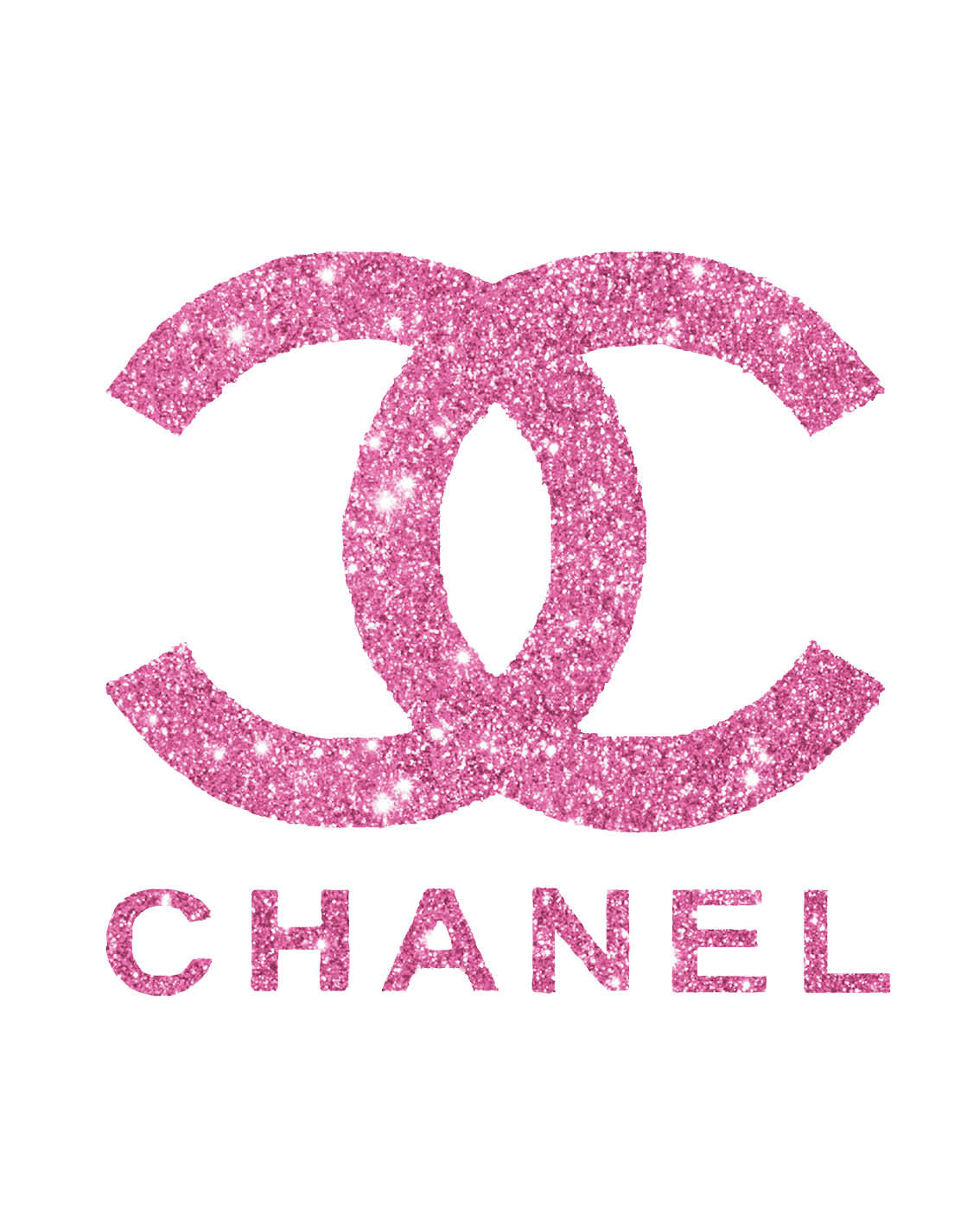 Chanel clipart glitter Wallpaper AND 11 CALM Pink