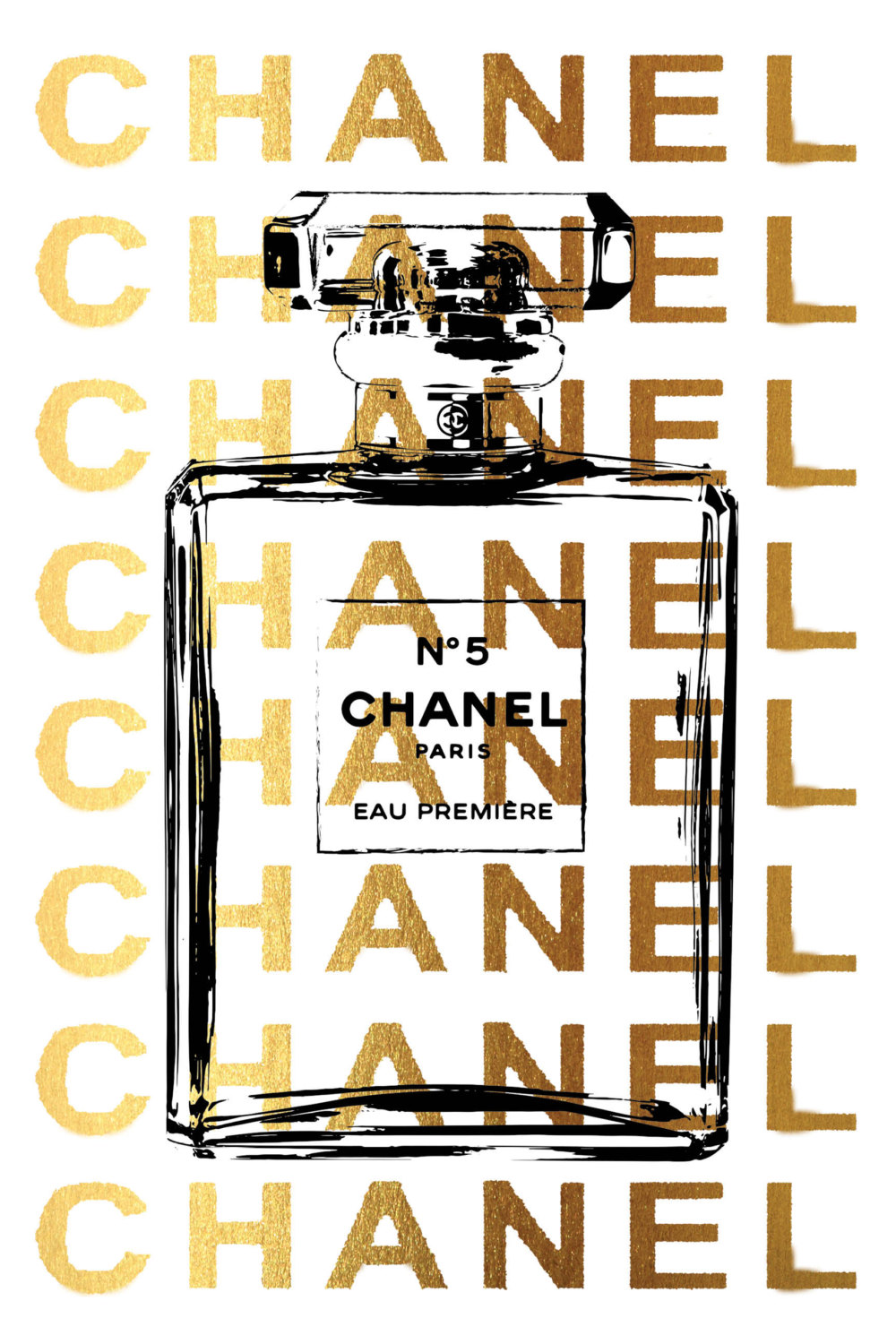 Chanel clipart large Large Chanel poster by poster
