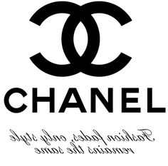 Chanel clipart logo art Yours DIY Chanel Coco (mislukt)