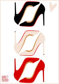Chanel clipart louboutin Pizzolo Christian drawing shoes Louboutin
