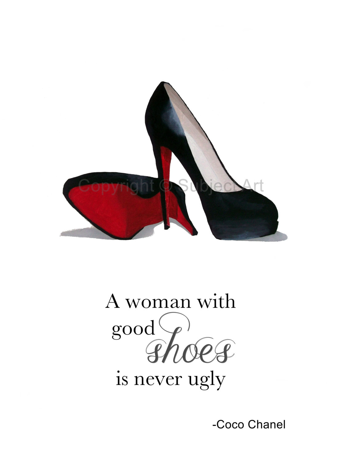 Chanel clipart louboutin CHRISTIAN this Shoes item? Quote