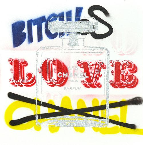Chanel clipart love LOVE BITCHES CHANEL LOVE BITCHES