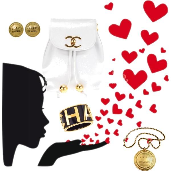Chanel clipart love Polyvore Chanel! Love Chanel! Love