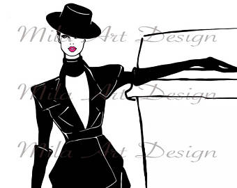 Chanel clipart name IN stickers fashion Etsy GIVENCHY
