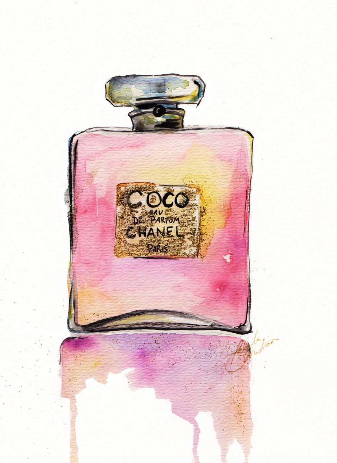 Bottle clipart chanel Bottle Coupon chanel and clipart