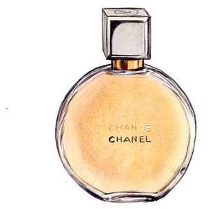 Perfume clipart coco chanel Print Print Perfume Fashion Colors