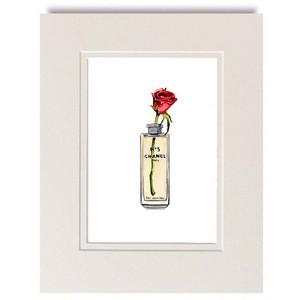 Chanel clipart perfume bottle Watercolor No Chanel 1 Chanel