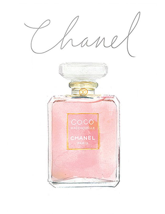 Chanel clipart perfume bottle #7: MUSINGS: Art HAIR about