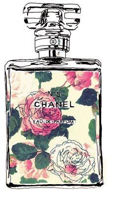 Drawn log Illustration More Lip Chanel #fashion