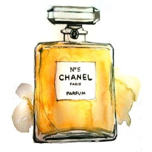 Perufme clipart chanel no 5 5 Drawings no Tumblr Polyvore