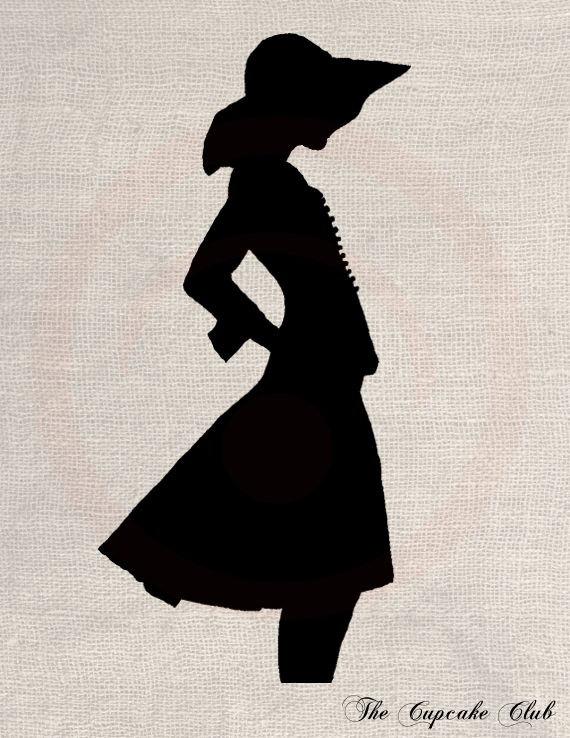 Chanel clipart vintage  Chic Transfer Design File