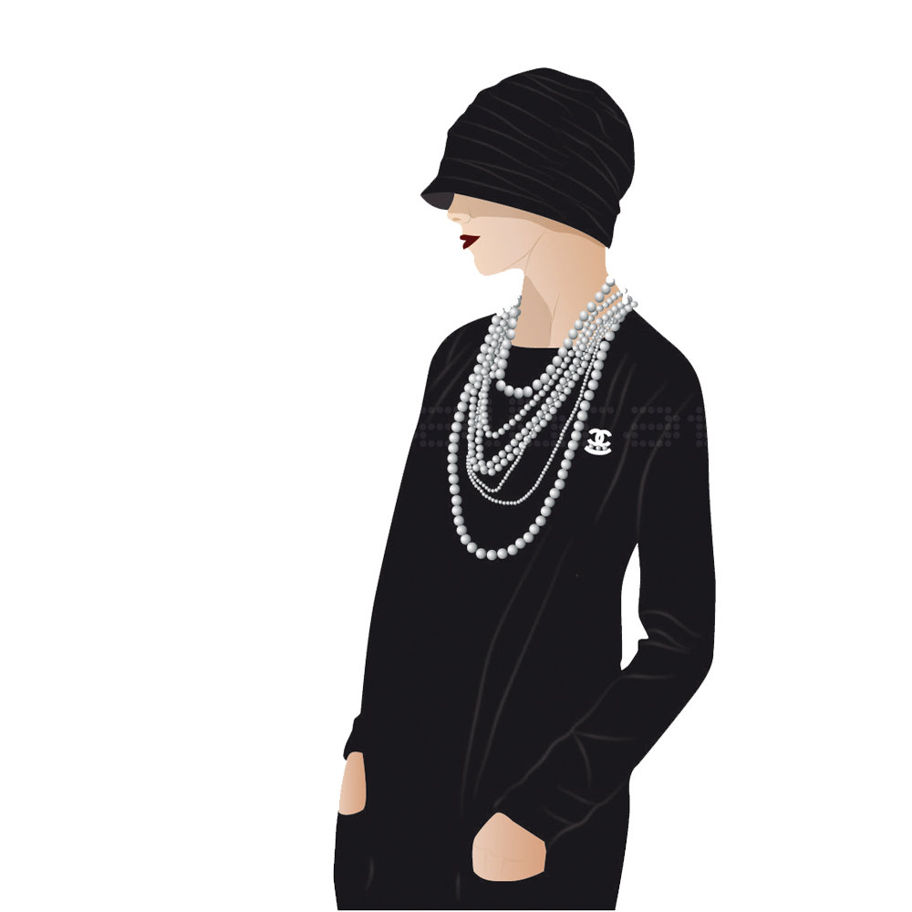 Chanel clipart vintage Like Retro Coco Inspired Vintage