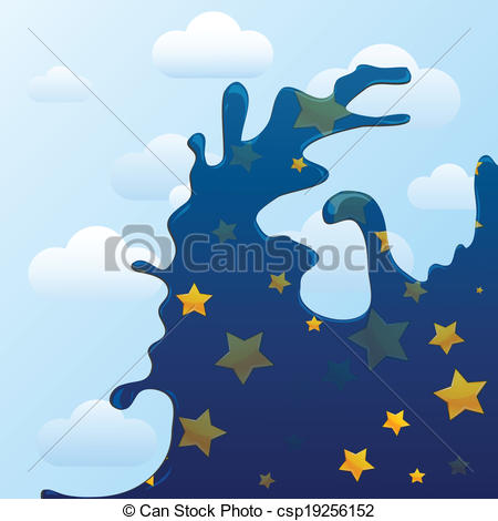 Changing To Night  clipart Clipart night changing background and