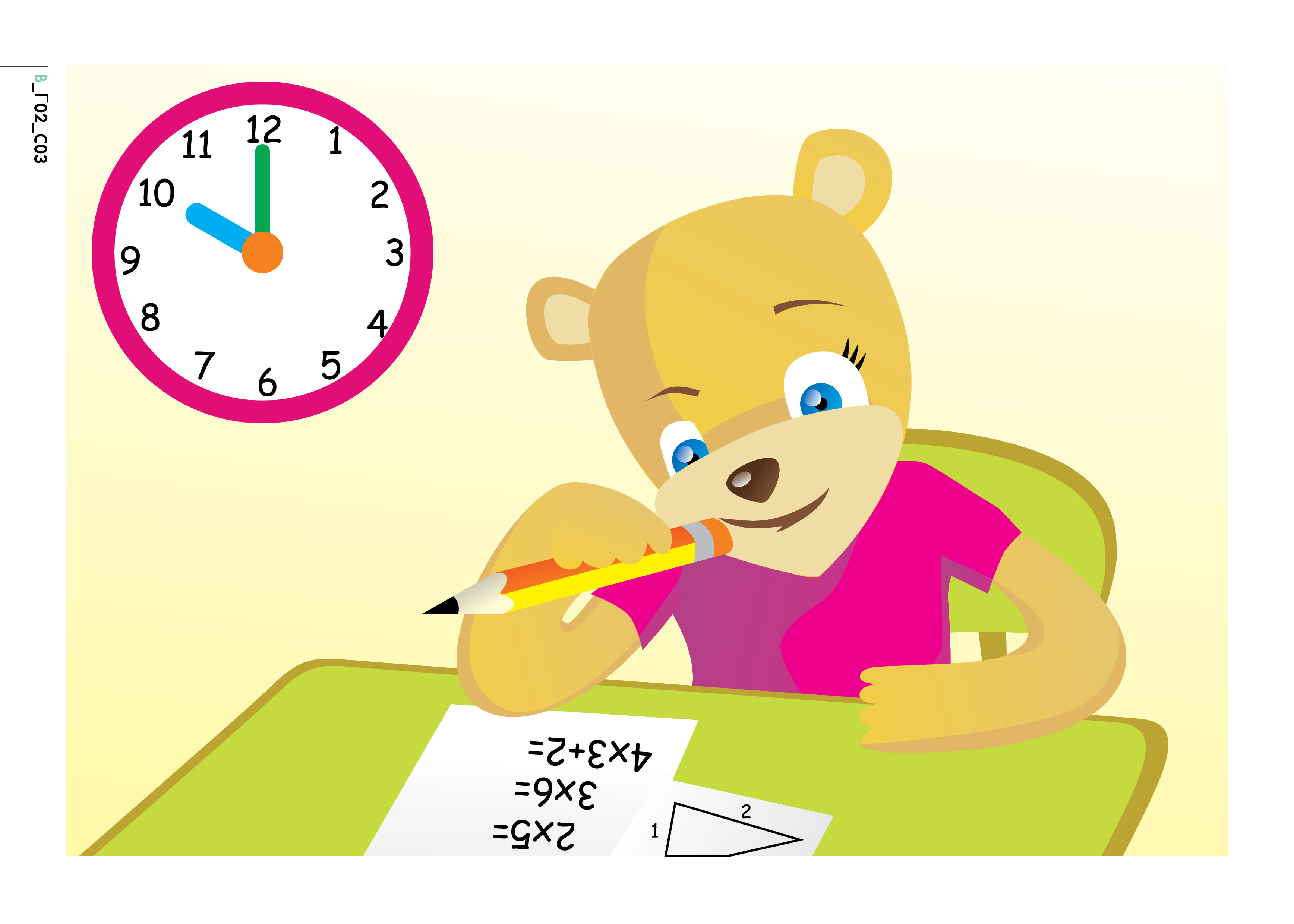 Changing To Night  clipart afternoon Jpg clock (B_Γ02_C04) 4 'I