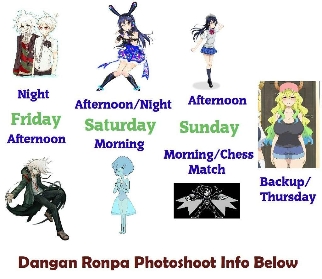 Changing To Night  clipart afternoon Cosplay so Sunday's can as