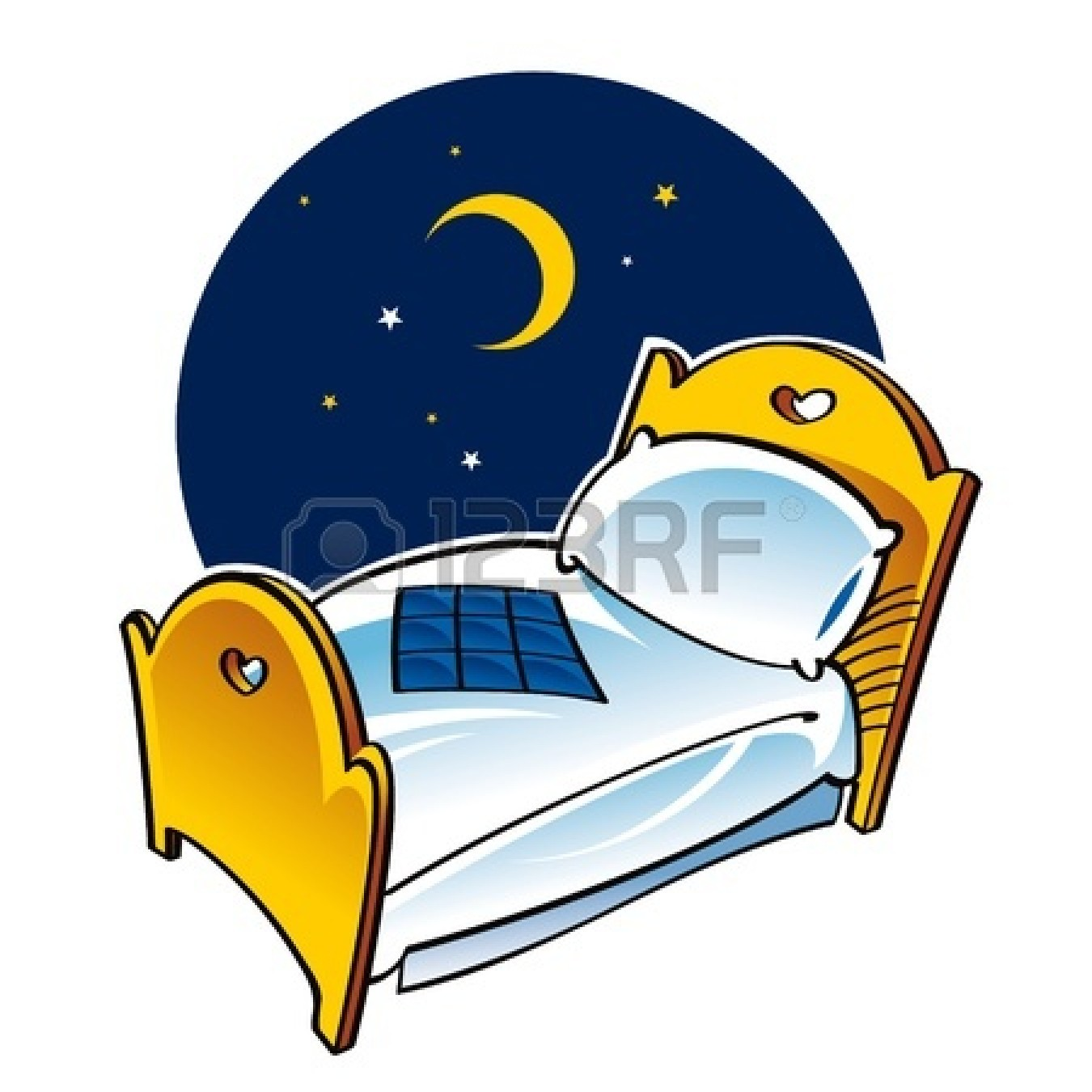 Bed clipart night moon Moon sleeping%20moon%20clipart Clipart Images Clipart