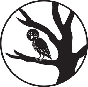 Changing To Night  clipart black and white Parrot White And Panda nighttime%20clipart