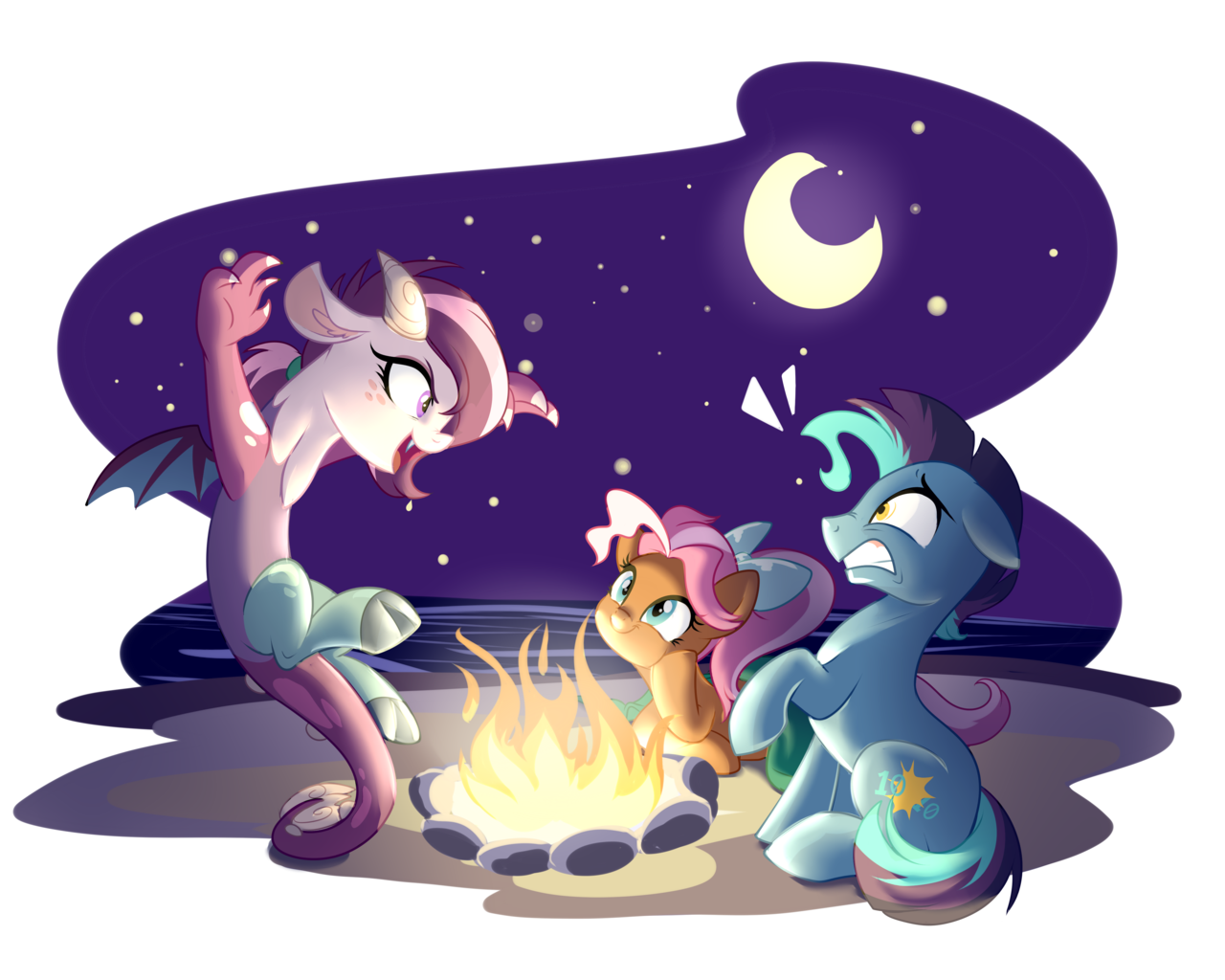 Changing To Night  clipart campfire Filter this 1323694 image or