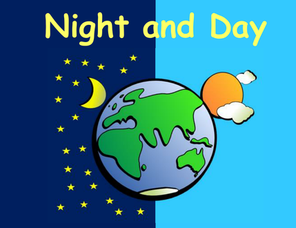 Changing To Night  clipart day night Of Lesson in Change for