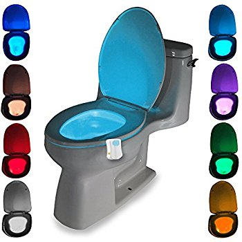 Changing To Night  clipart house Toilet Toilet Sensor Seat Light