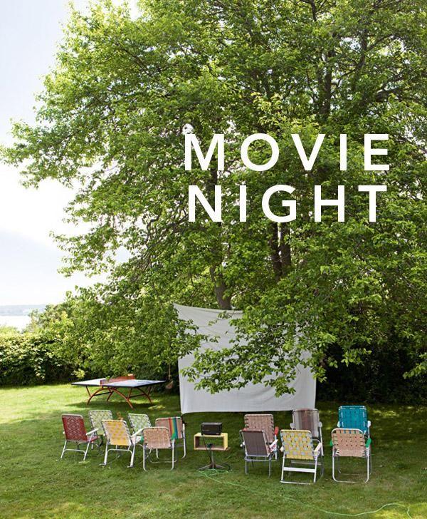 Changing To Night  clipart outdoor movie screen 11 NightsOutdoor Your Movie School