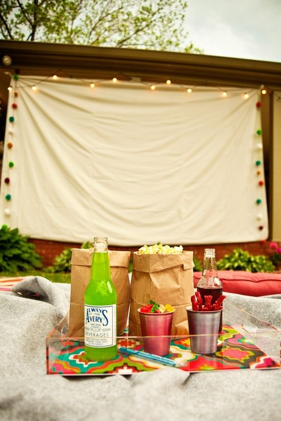 Changing To Night  clipart outdoor movie screen DIY: outdoor on an MOVIE