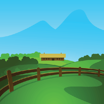 Changing To Night  clipart rural Scenery Valley Scenery in PBS