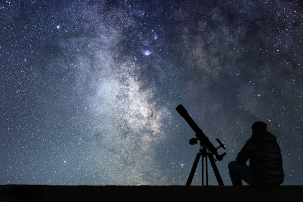 Changing To Night  clipart telescope star Astronomy stars the telescope astronomy