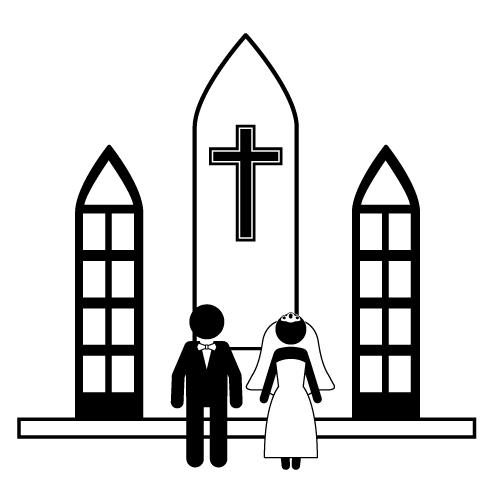 Chapel clipart Clipart Wedding cliparts Chapel Chapel