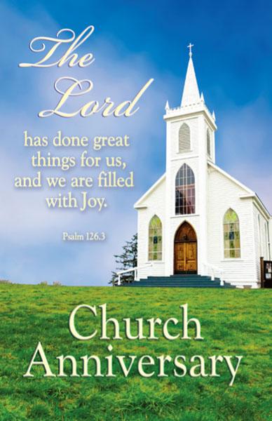 Chapel clipart church anniversary Church Church Anniversary African American