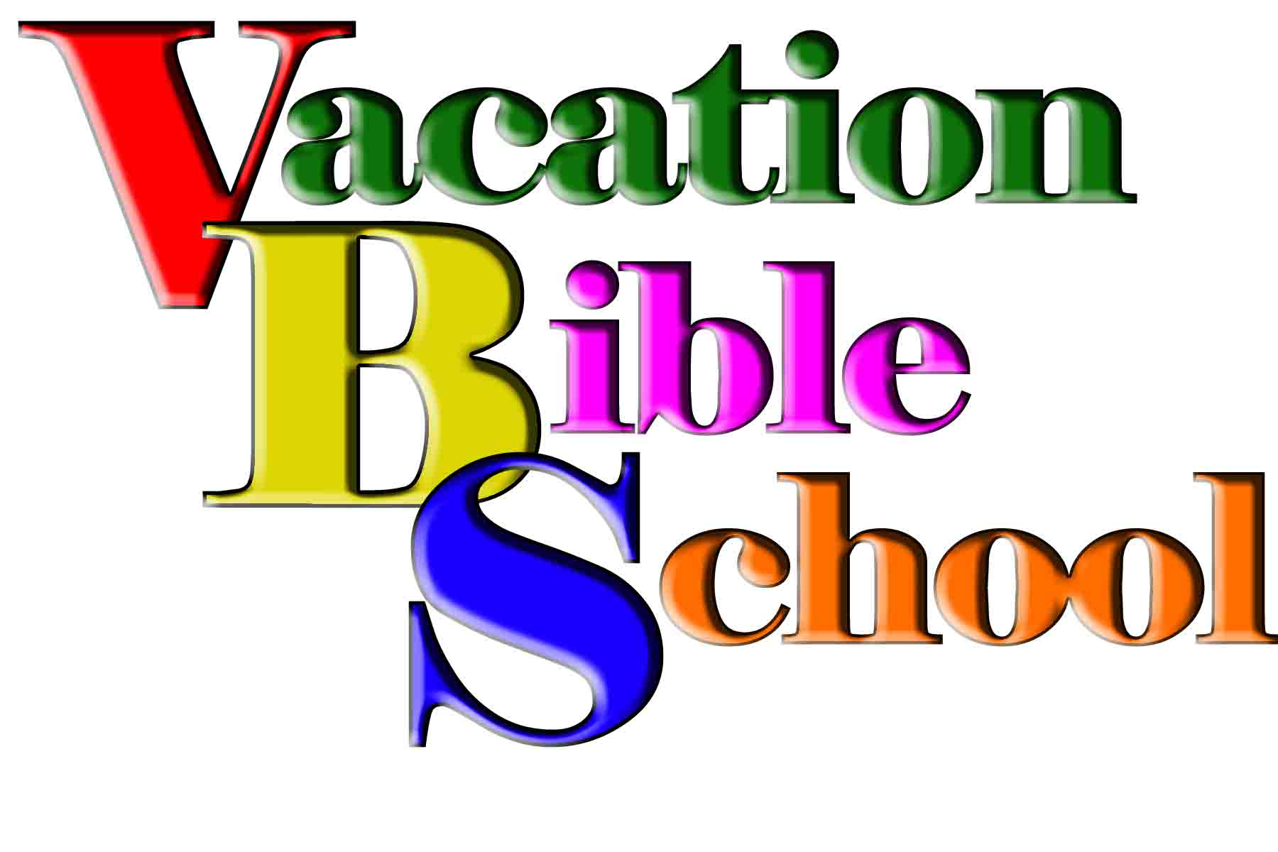 Vacation clipart logo June Bible School At 3rd