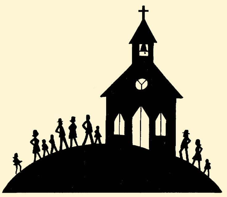 Chapel clipart silhouette Whom of we weak are