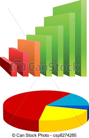 Chart clipart bar graph Chart Pie of and