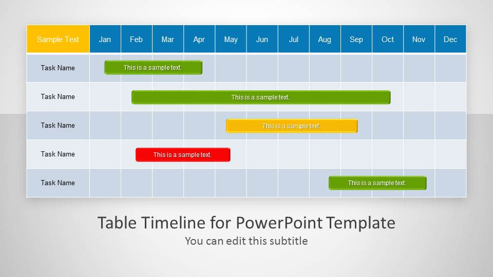 Chart clipart project schedule For Powerpoint creative gantt templates
