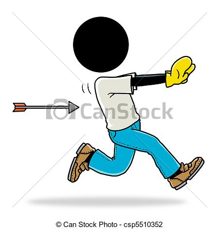 Chase clipart By Art Clip Stock unlucky