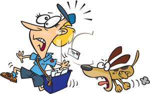 Bark clipart vicious dog Postal  Picture Carrier Royalty