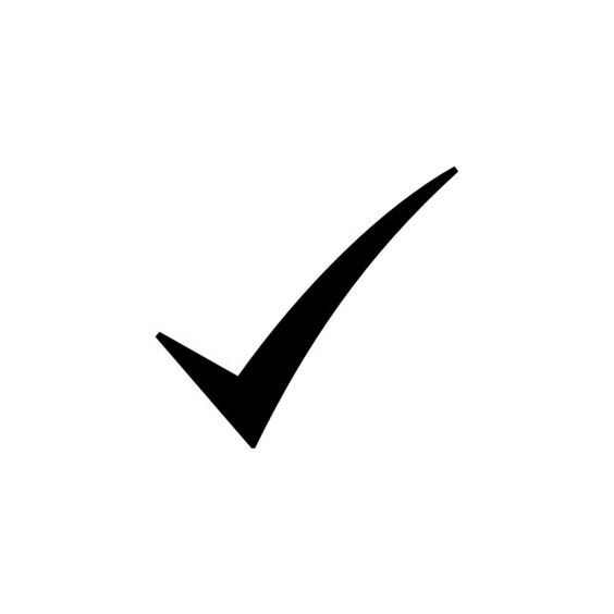 Check clipart black and white Clipart white check and white