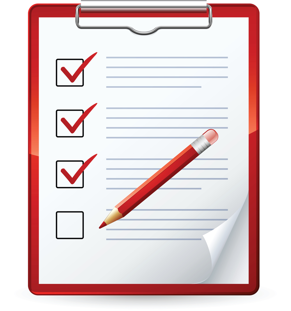 Overview clipart checklist Clip Blank clipart: check Clipart